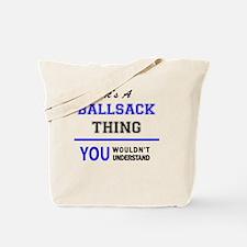 Cute Ballsack Tote Bag
