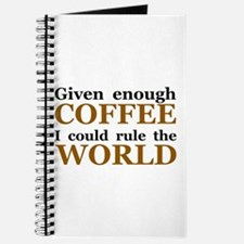 Given Enough Coffee Journal