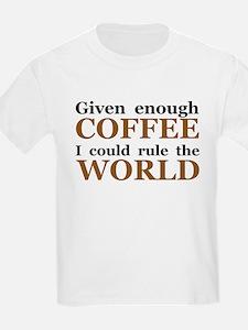 Given Enough Coffee T-Shirt