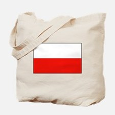 Polish Flag Tote Bag