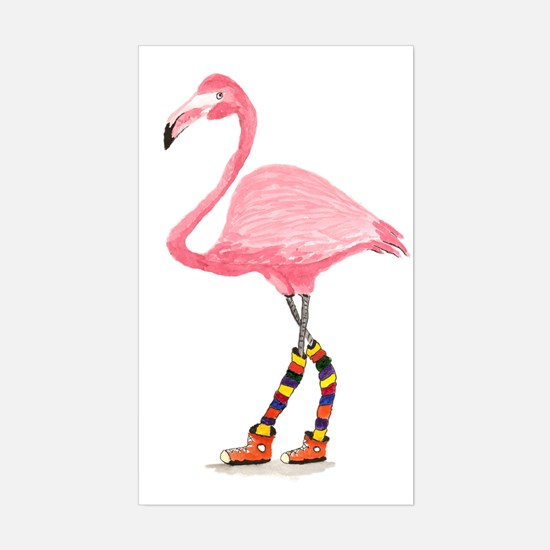 Styling Flamingo Decal