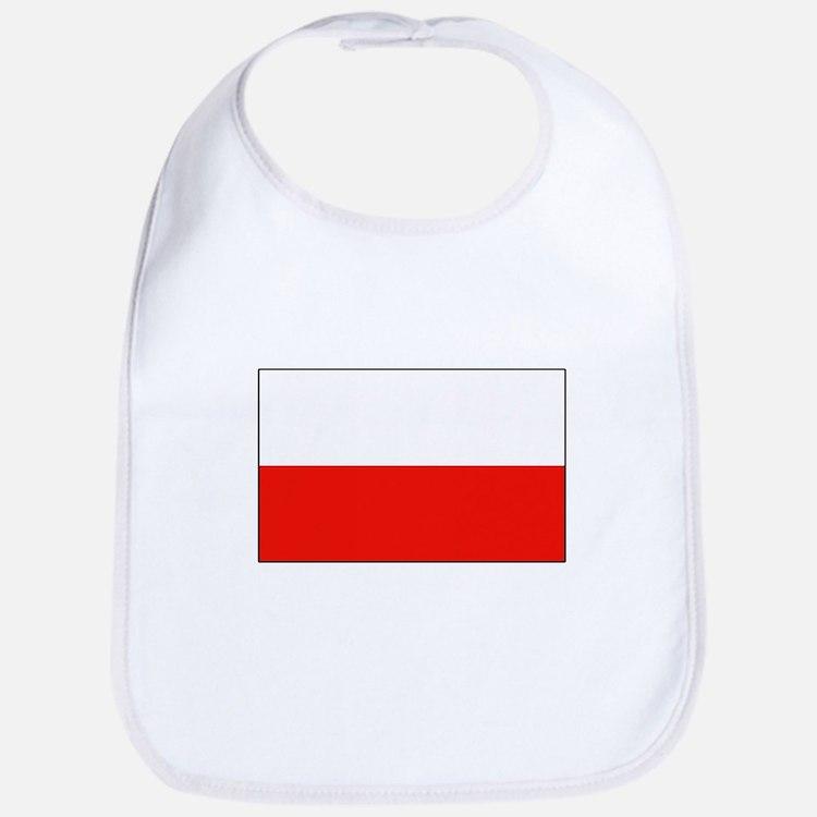 Polish Flag Bib