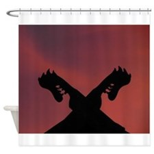Dragon Heads Shower Curtain