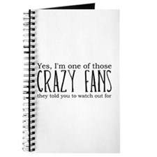 One of Those Crazy Fans Journal
