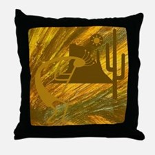Dance of the Desert Deity Throw Pillow