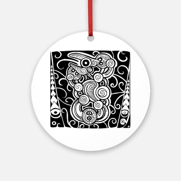 21st Key Cook Island Design With Samoan Tanoa On A Stand