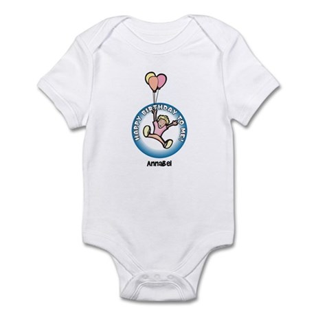 Annabel: Happy B-day to me Infant Bodysuit