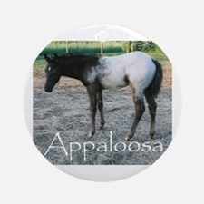 Appy foal Ornament (Round)