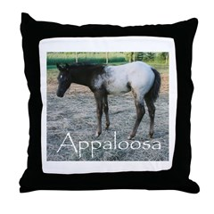 Appy foal Throw Pillow