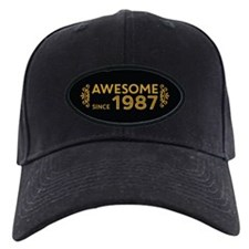 Awesome Since 1987 Baseball Hat