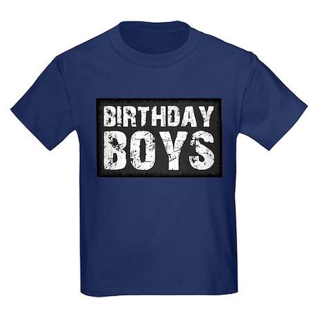 Birthday Boys Kids Dark T-Shirt