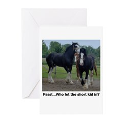 Clydesdale Greeting Cards (Pk of 10)