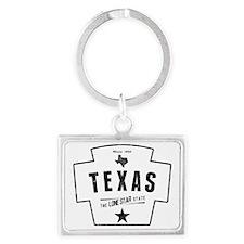 Texas Landscape Keychain