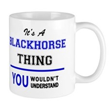 Cute Blackhorse Mug