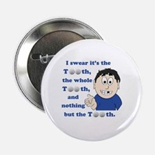 "Cute Golfing 2.25"" Button"