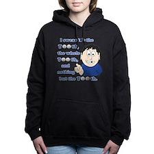 Unique Toothless Women's Hooded Sweatshirt