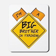 Big Brother in Training Mousepad