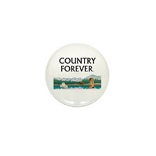 Country Forever Mini Button (10 pack)