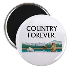 Country Forever Magnet
