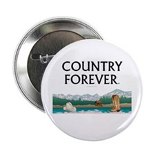 """Country Forever 2.25"""" Button"""