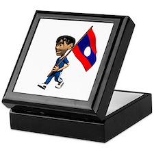 Laos Boy Keepsake Box