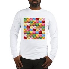 Pop Art Om Long Sleeve T-Shirt