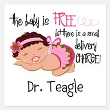Personalized Funny Gynecolo Invitations