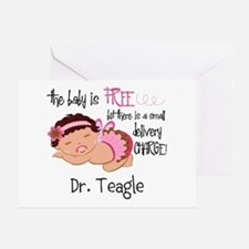 Personalized Funny Gynecologists Greeting Card
