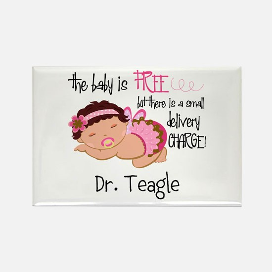 Personalized Funny Gynecologists Rectangle Magnet