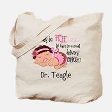 Personalized Funny Gynecologists Tote Bag