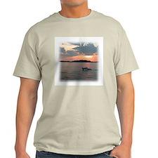Twilight Sunset Boating T-Shirt