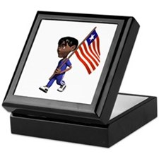 Liberia Boy Keepsake Box