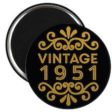 Vintage 1951 Magnets