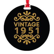 Vintage 1951 Ornament