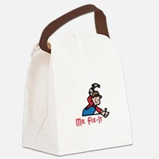 MR FIX IT Canvas Lunch Bag
