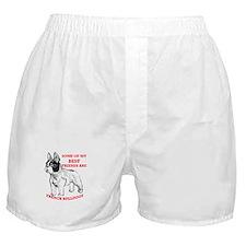 Unique Dogs bull terriers Boxer Shorts