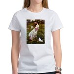Windflowers & Papillon Women's T-Shirt