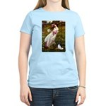 Windflowers & Papillon Women's Light T-Shirt