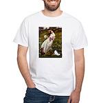 Windflowers & Papillon White T-Shirt