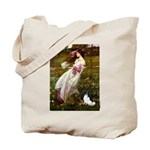 Windflowers & Papillon Tote Bag