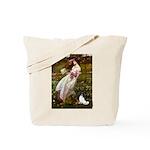 Windflowers & Papillon Tote Bag