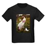 Windflowers & Papillon Kids Dark T-Shirt