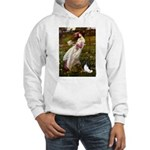 Windflowers & Papillon Hooded Sweatshirt