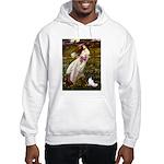 Windflowers & Papillon Hooded Sweatshirt