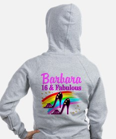 AWESOME 16TH Zip Hoodie