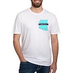 True Blue Arizona LIBERAL Fitted T-Shirt