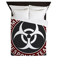 Zombie Outbreak Response Team - Red Queen Duvet