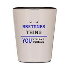 Unique Breton Shot Glass