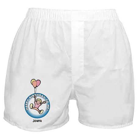 Joana: Happy B-day to me Boxer Shorts
