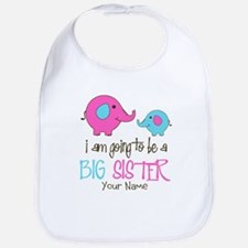 I am Going to be a Big Sister | Elephant Bib